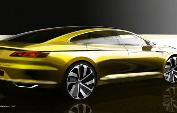 Volkswagen CC - prima imagine teaser a conceptului care prefigurează următoarea generaţie - Poza 2