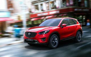 Preţuri Mazda CX-5 facelift în România: crossoverul pleacă de la 22.600 de euro cu TVA inclus