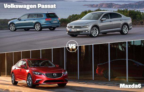 E ziua marilor finale în Autovot 2015: VW Passat vs. Mazda6 la categoria Maşini Accesibile şi Audi A7 vs. Mercedes S Coupe la Maşini Premium - Poza 1