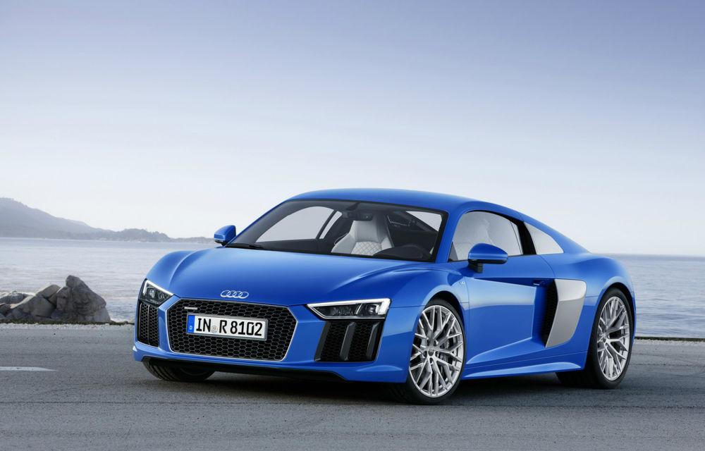 Audi R8 e-tron 2.0: versiunea electrică a supercarului are o autonomie de 450 kilometri - Poza 1