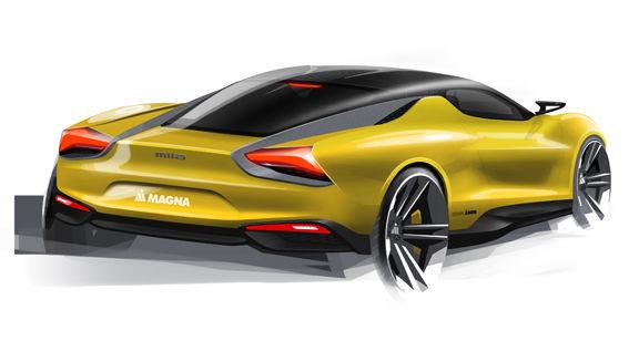 Magna Steyr Mila Plus este primul supercar hibrid al unui furnizor auto - Poza 5