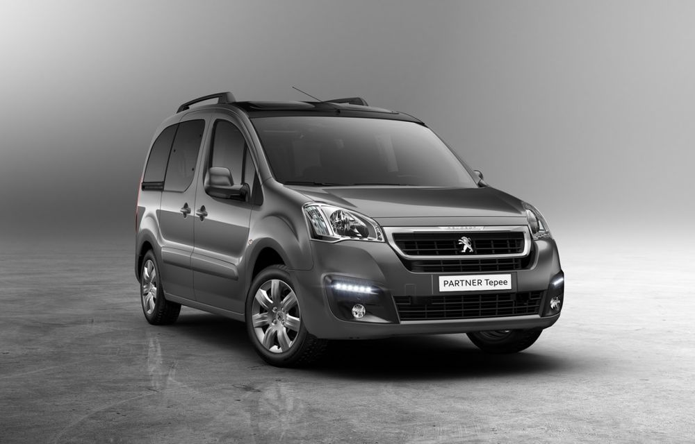 Peugeot Partner facelift debutează martie - Poza 1