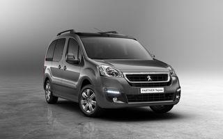 Peugeot Partner facelift debutează martie