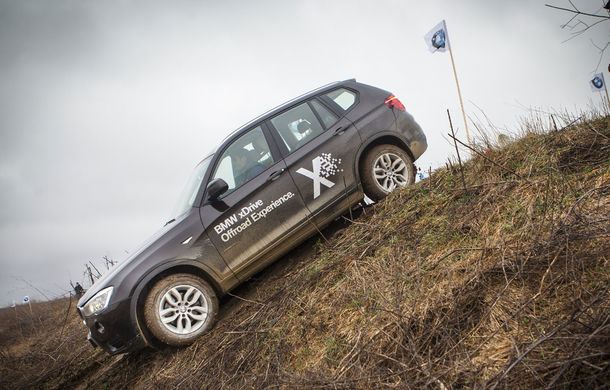 BMW xDrive Offroad Experience: o demonstrație de forță în off-road în 10 orașe din țară - Poza 3