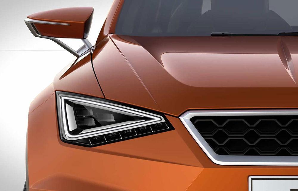 Prima imagine a conceptului care anunță SUV-ul Seat - Poza 1