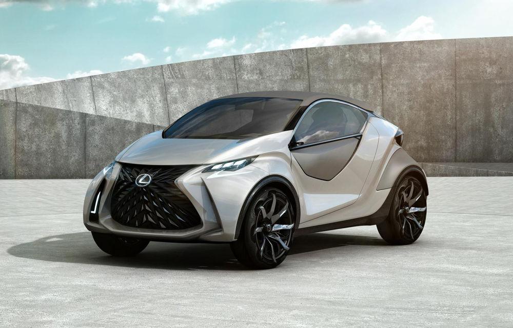 Primele imagini cu conceptul Lexus LF-SA au fost publicate înainte de debutul oficial - Poza 1