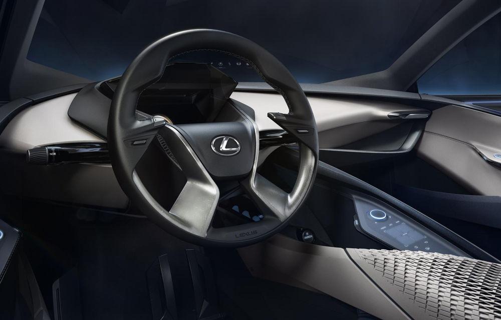 Primele imagini cu conceptul Lexus LF-SA au fost publicate înainte de debutul oficial - Poza 4