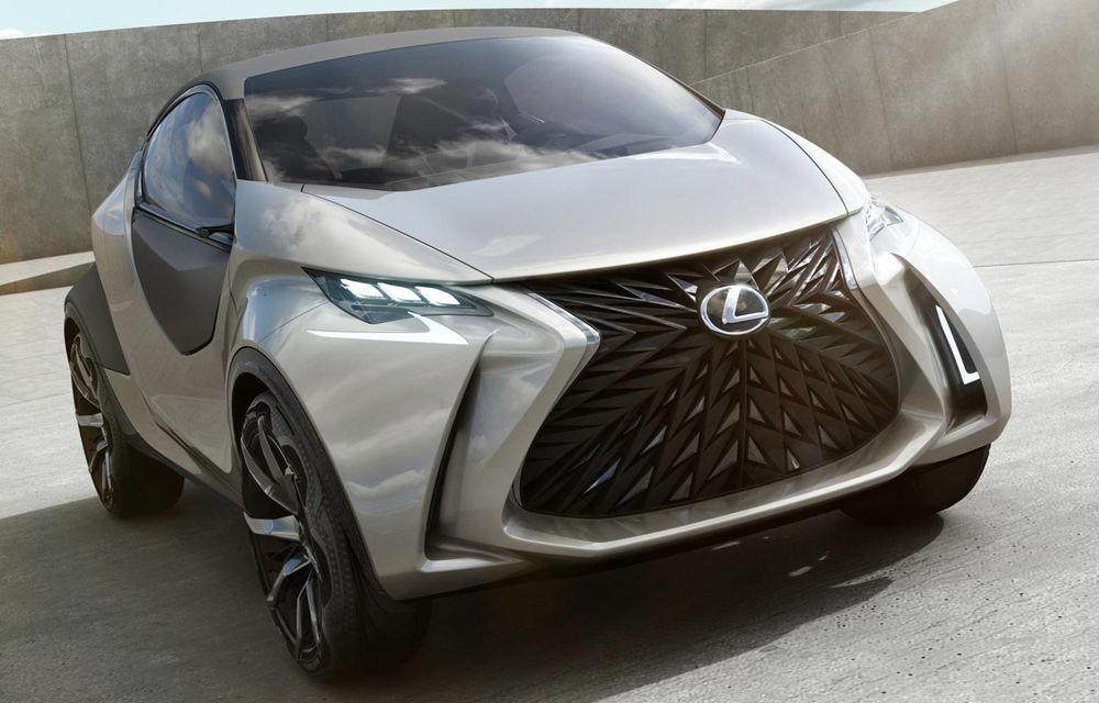 Primele imagini cu conceptul Lexus LF-SA au fost publicate înainte de debutul oficial - Poza 2