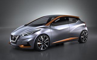 Nissan Sway, conceptul care prefigurează înlocuitorul lui Micra, a debutat alături de gama Nismo
