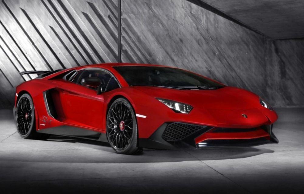 Lamborghini Aventador SV: 750 CP şi 0-100 km/h în 2.8 secunde pentru cea mai rapidă versiune a modelului - Poza 1