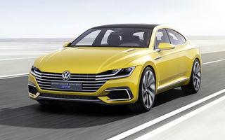 Volkswagen Sport Coupé Concept GTE: germanii pregătesc un model poziţionat între Passat şi Phaeton