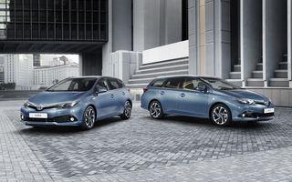 Toyota Auris facelift primeşte un nou aspect şi o motorizare 1.2 turbo
