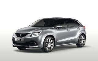 Suzuki iK-2 Concept prefigurează o maşină de clasă mică programată pentru lansare în 2016