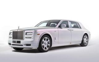 Rolls-Royce Phantom Serenity, exemplarul cu cea mai scumpă vopsea oferită vreodată de englezi