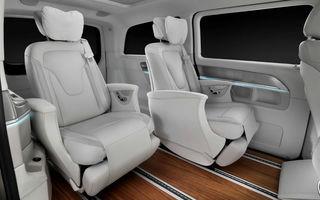Mercedes-Benz Concept V-ision ne arată până unde poate merge confortul într-o maşină