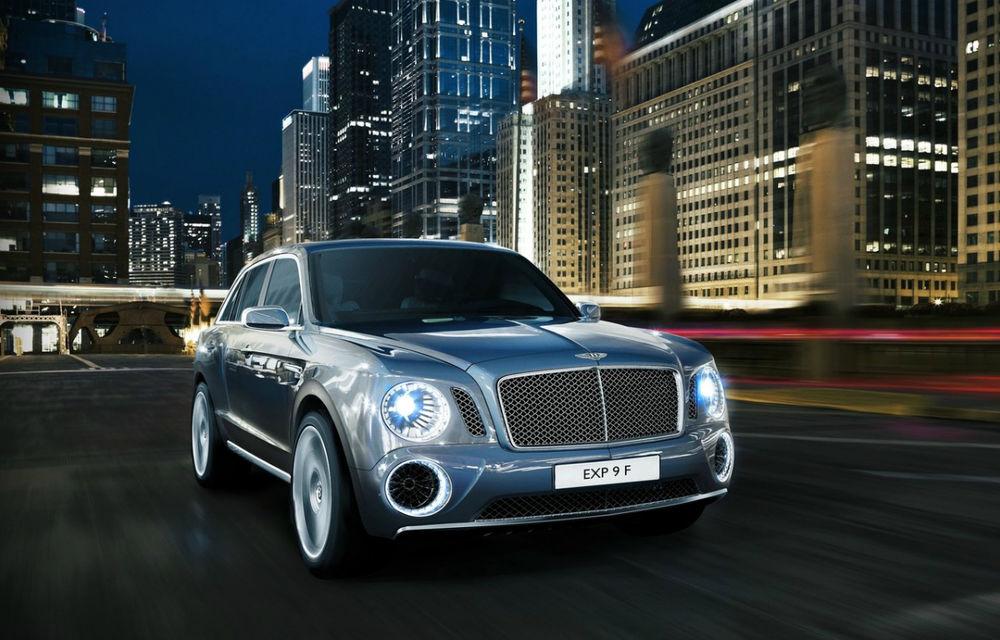 """Şeful Bentley: """"Primul nostru motor diesel va fi oferit pe Bentayga, viitorul SUV"""" - Poza 1"""