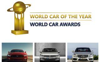 World Car of the Year 2015 îşi anunţă finaliştii: Mustang, Passat şi C-Klasse