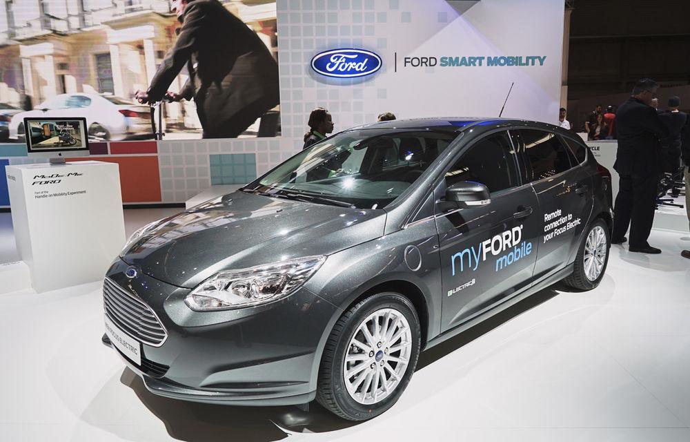 Cum va arăta traficul în oraşul viitorului? Ford propune biciclete electrice şi maşini autonome - Poza 5