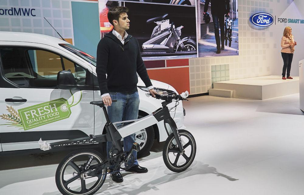 Cum va arăta traficul în oraşul viitorului? Ford propune biciclete electrice şi maşini autonome - Poza 3