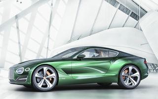 Conceptul Bentley EXP 10 Speed 6 anunță un viitor model de serie cu două locuri