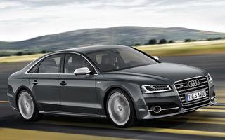 Audi amână lansarea noii generaţii A8 pentru anul 2017 cu scopul de a testa capacitatea limuzinei de a se conduce singură