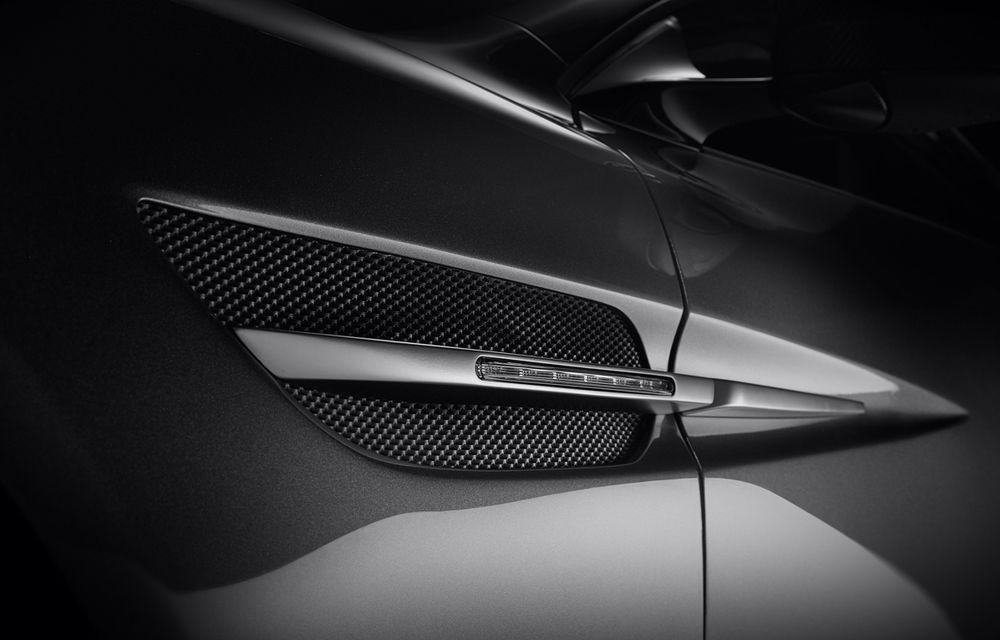 Henrik Fisker a creat conceptul Thunderbolt, un supercar bazat pe modelul Aston Martin Vanquish - Poza 9