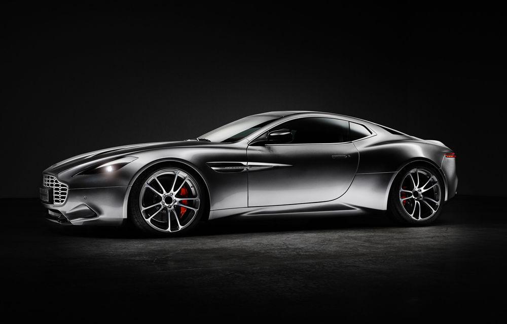 Henrik Fisker a creat conceptul Thunderbolt, un supercar bazat pe modelul Aston Martin Vanquish - Poza 3