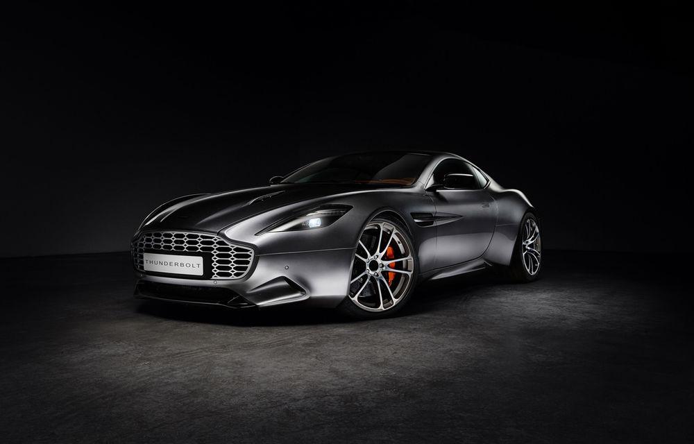 Henrik Fisker a creat conceptul Thunderbolt, un supercar bazat pe modelul Aston Martin Vanquish - Poza 4