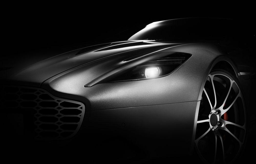 Henrik Fisker a creat conceptul Thunderbolt, un supercar bazat pe modelul Aston Martin Vanquish - Poza 7