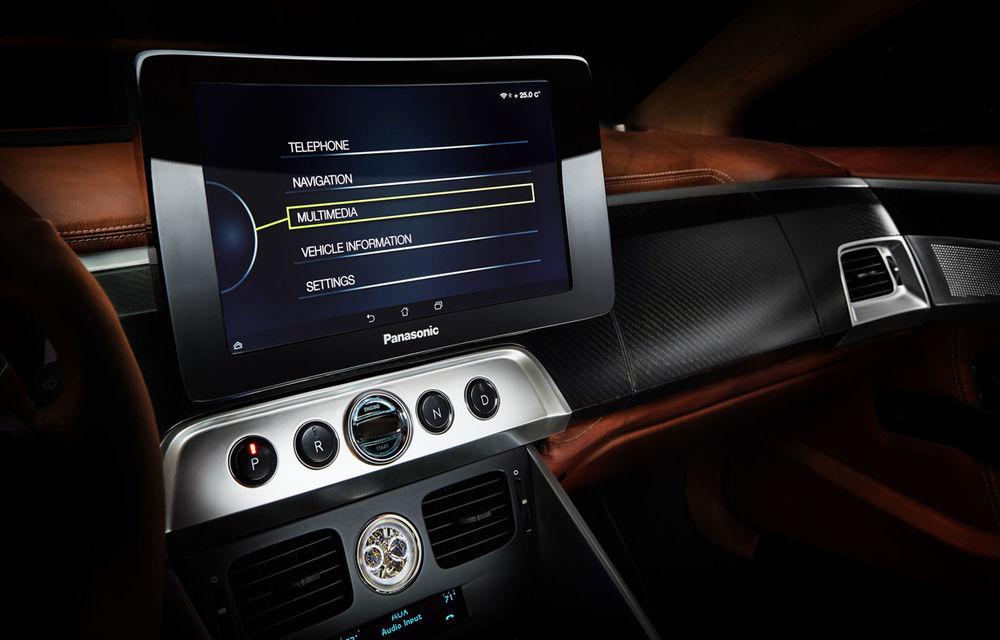 Henrik Fisker a creat conceptul Thunderbolt, un supercar bazat pe modelul Aston Martin Vanquish - Poza 10
