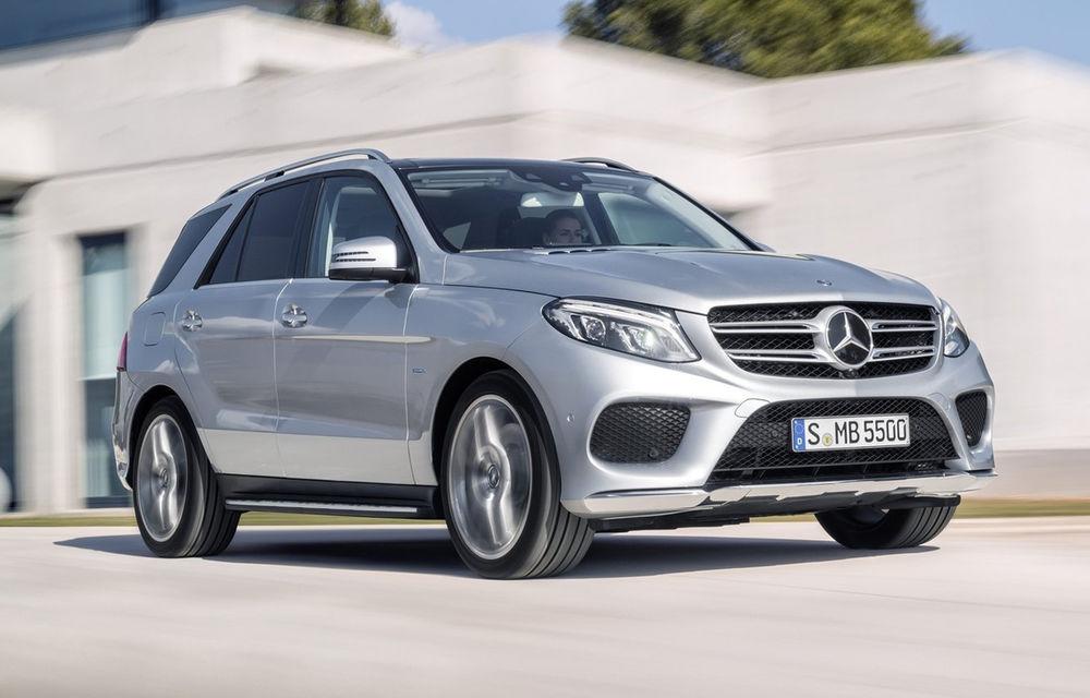 Mercedes-Benz ML primeşte un facelift şi e redenumit oficial: faceţi cunoştinţă cu noul Mercedes GLE - Poza 1