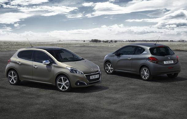 Peugeot 208 facelift va oferi clienţilor o vopsea texturată, mai rezistentă decât cea mată - Poza 1