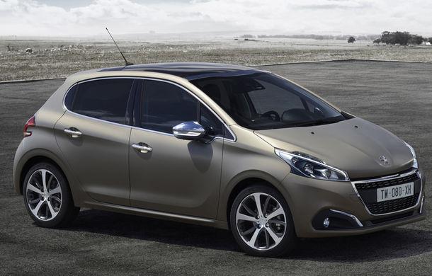 Peugeot 208 facelift va oferi clienţilor o vopsea texturată, mai rezistentă decât cea mată - Poza 2