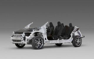 Toyota prezintă noua sa platformă globală modulară, TNGA