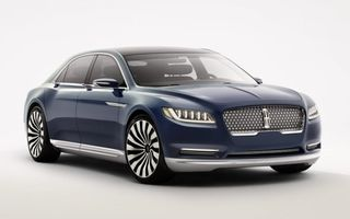 Lincoln Continental Concept prefaţează viitorul mărcii americane