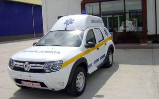 Dacia a început livrarea primelor ambulanţe bazate pe Duster