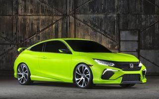 Honda Civic Concept le arată americanilor viitorul compactei japoneze