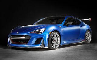 Subaru STI Performance Concept ne arată ipoteza unei variante mai performante a lui BRZ