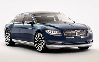 Bentley acuză marca Lincoln de plagiat în cazul conceptului Continental: