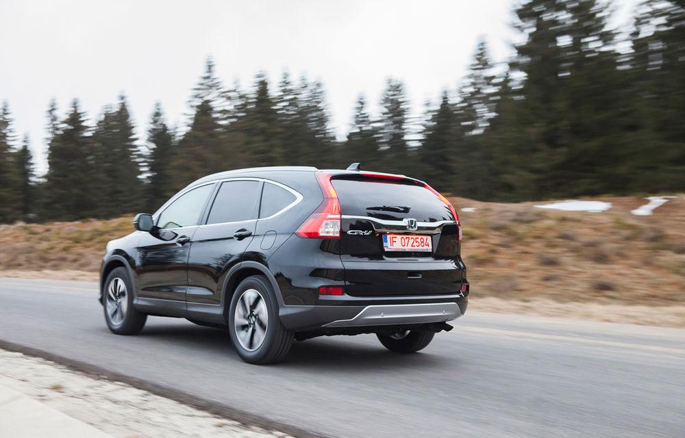 Honda CR-V facelift e disponibil în România: SUV-ul restilizat pleacă de la 26.000 de euro şi primeşte tehnologie de top - Poza 8