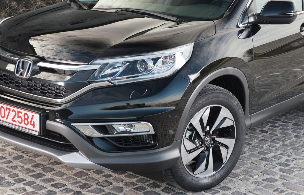 Honda CR-V facelift e disponibil în România: SUV-ul restilizat pleacă de la 26.000 de euro şi primeşte tehnologie de top - Poza 11