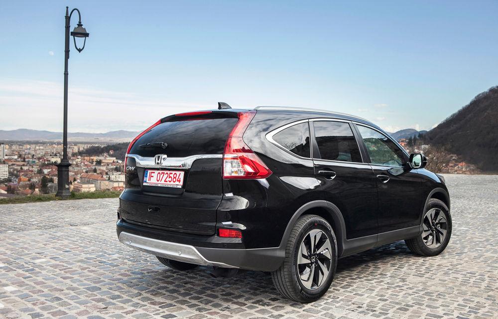Honda CR-V facelift e disponibil în România: SUV-ul restilizat pleacă de la 26.000 de euro şi primeşte tehnologie de top - Poza 3
