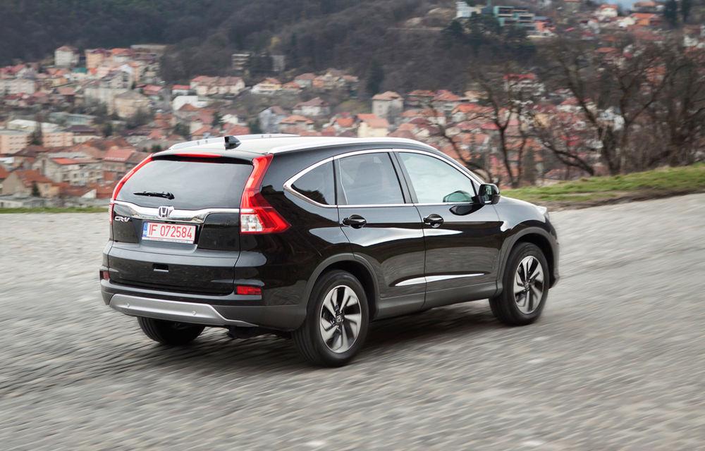 Honda CR-V facelift e disponibil în România: SUV-ul restilizat pleacă de la 26.000 de euro şi primeşte tehnologie de top - Poza 6