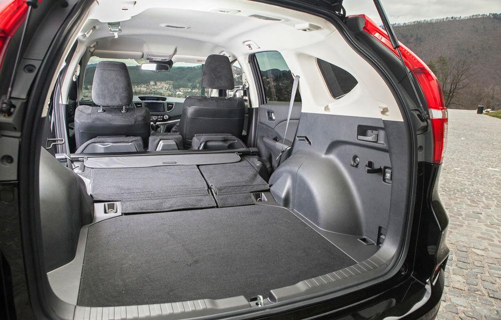 Honda CR-V facelift e disponibil în România: SUV-ul restilizat pleacă de la 26.000 de euro şi primeşte tehnologie de top - Poza 26