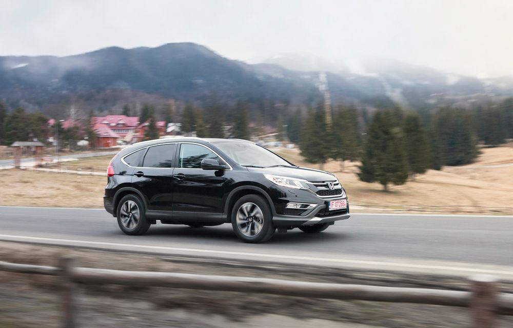 Honda CR-V facelift e disponibil în România: SUV-ul restilizat pleacă de la 26.000 de euro şi primeşte tehnologie de top - Poza 7