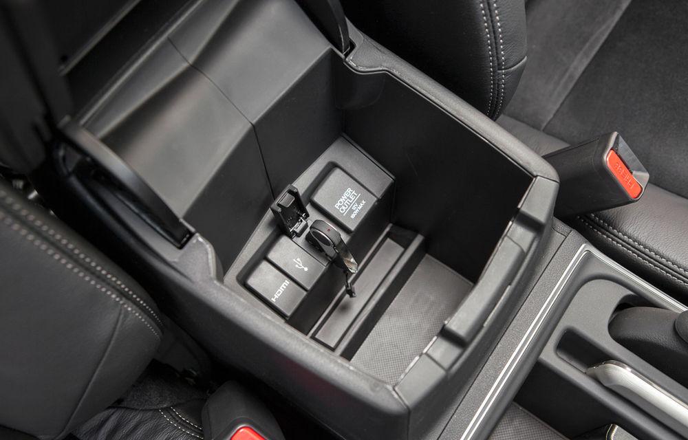 Honda CR-V facelift e disponibil în România: SUV-ul restilizat pleacă de la 26.000 de euro şi primeşte tehnologie de top - Poza 42