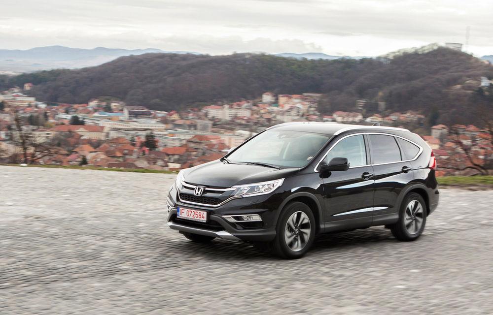Honda CR-V facelift e disponibil în România: SUV-ul restilizat pleacă de la 26.000 de euro şi primeşte tehnologie de top - Poza 5