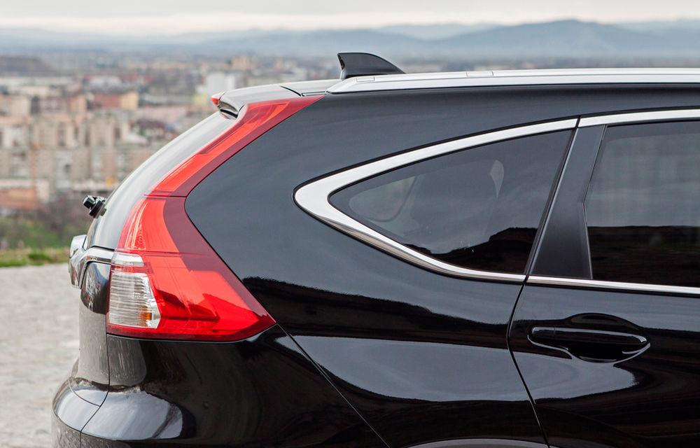 Honda CR-V facelift e disponibil în România: SUV-ul restilizat pleacă de la 26.000 de euro şi primeşte tehnologie de top - Poza 9