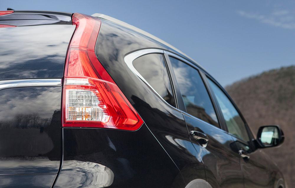 Honda CR-V facelift e disponibil în România: SUV-ul restilizat pleacă de la 26.000 de euro şi primeşte tehnologie de top - Poza 10