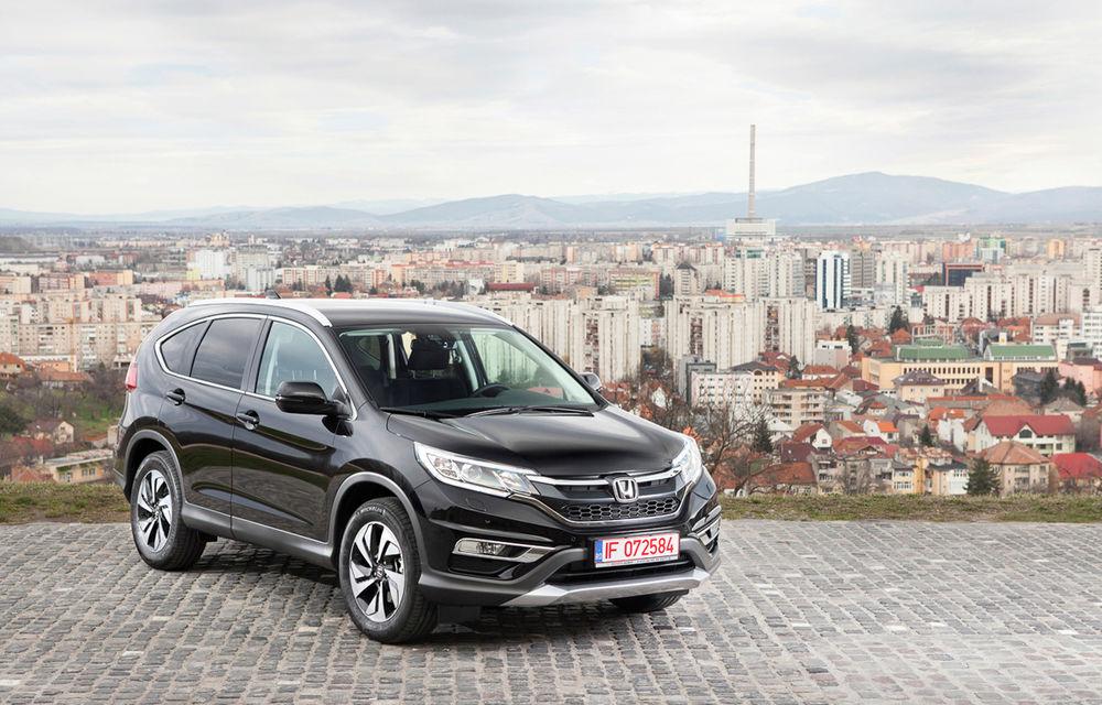 Honda CR-V facelift e disponibil în România: SUV-ul restilizat pleacă de la 26.000 de euro şi primeşte tehnologie de top - Poza 1